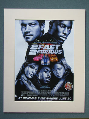 2 Fast 2 Furious 2003 Original advert (ref AD782)