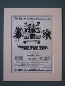 Won Ton Ton Original Advert 1976 (ref AD526)