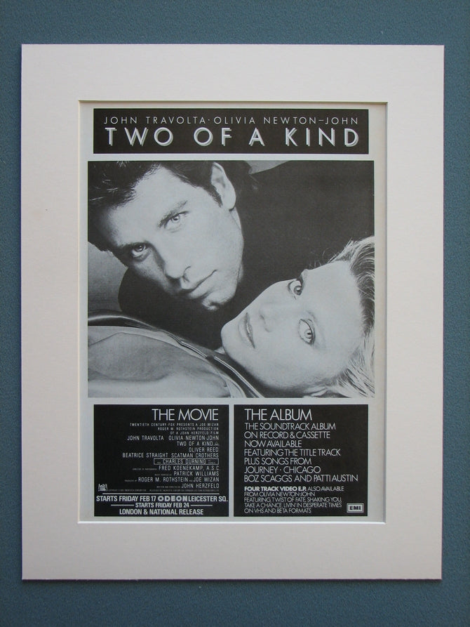 Two Of A Kind Original Advert 1984 (ref AD673)