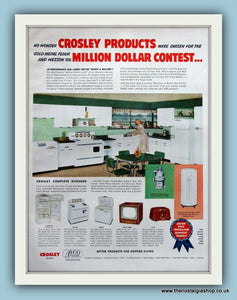 Crosley Products Original Advert 1952 (ref AD8177)