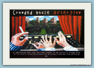Crowded House. Afterglow. Original Advert 2000 (ref AD1903)