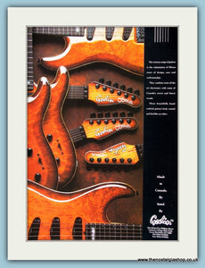 Godin Hand Made Guitars. Original Advert 1991 (ref AD2214)