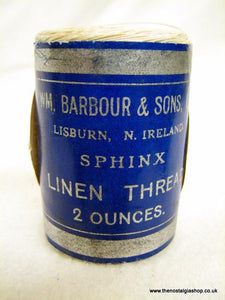 The Sphinx ball of Vintage Linen Thread. (ref nos082)