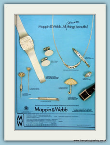 Mappin & Webb Gold Original Advert 1978 (ref AD6254)