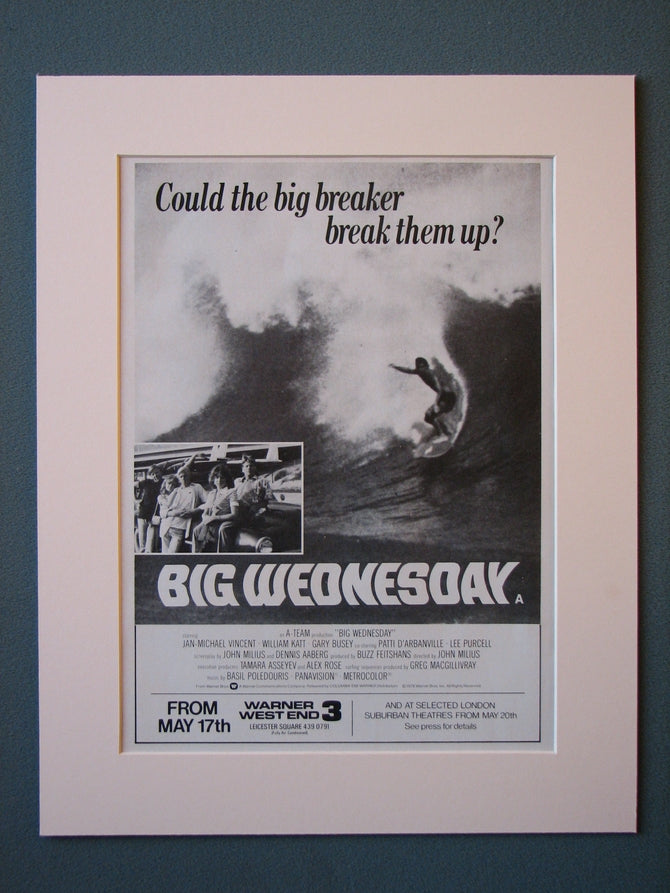 Big Wednesday 1979  Original advert (ref AD455)
