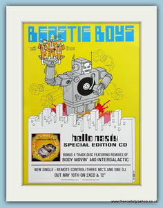 Beastie Boys, Hello Nasty Original Advert 1999 (ref AD3453)