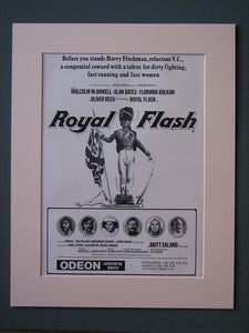 Royal Flash Original Advert 1975(ref AD527)