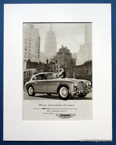Aston Martin DB2-4 Three Litre 1955 Original Advert (ref AD1440)
