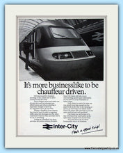 Load image into Gallery viewer, Inter-City Business Travel 1973 & 1979 Set Of 3 Original Adverts (ref AD6551)