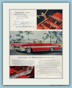 Oldsmobile Starfire. Original Advert 1961 (ref AD8209)