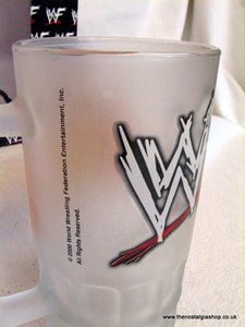 The Rock WWF Glass Tankard 2000 (ref Nos107)