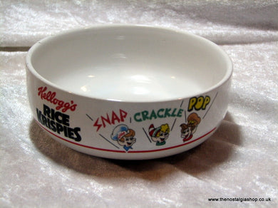 Kellog's Rice Krispies Cereal Bowl 1987. (ref Nos008)