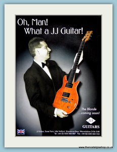 JJ Guitars. Original Advert 2001 (ref AD2358)