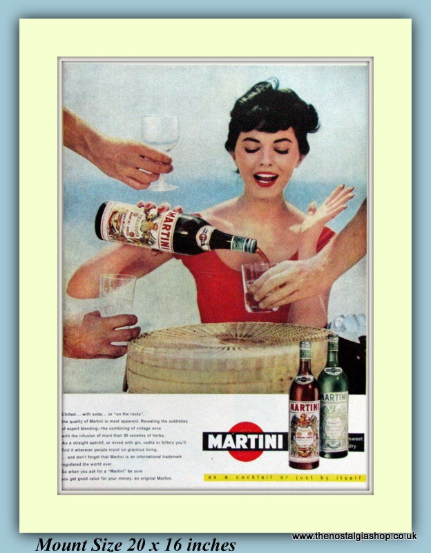Martini Original Advert 1959 (ref AD9337)