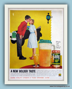 Tang Breakfast drink. Original Advert 1961 (ref AD8144)