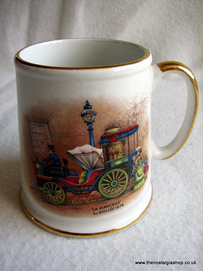 Old Foley Ceramic Mug Steam Roller (ref Nos46)