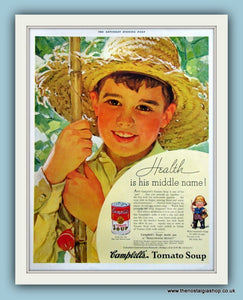 Campbells Tomato Soup. Original Advert 1935 (ref AD8157)