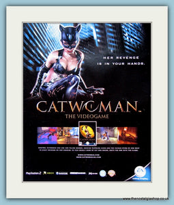 Catwoman The Videogame Original Advert 2004 (ref AD3952)