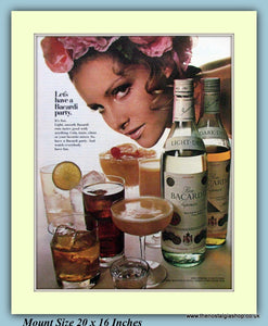 Bacardi Rum Original Advert 1969 (ref AD9341)
