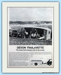 Devon Trailavette Original Advert 1968 (ref AD6363)