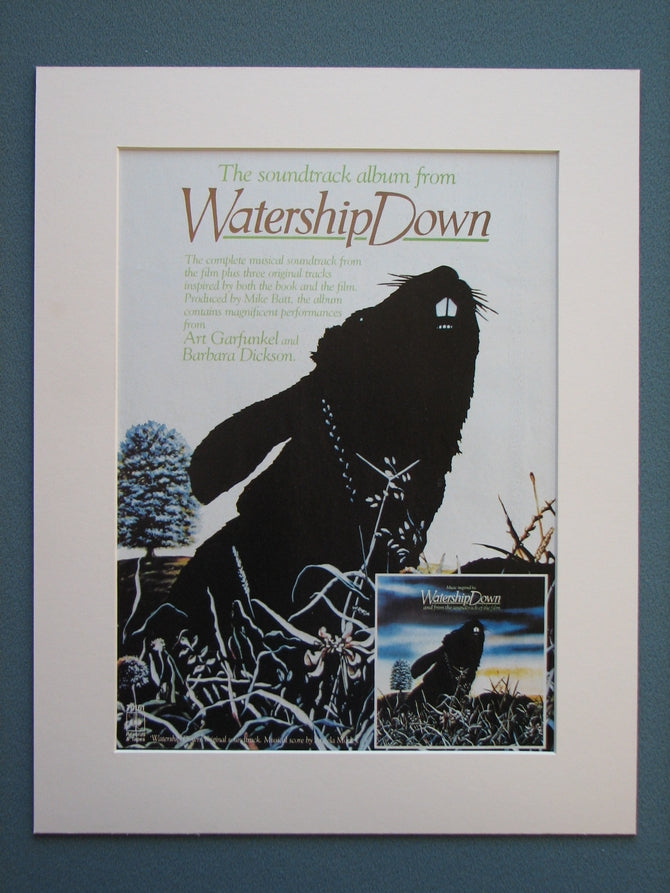 Watership Down 1978 Original advert (ref AD741)