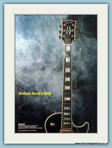 Gibson Rosetti Guitar Original Advert 1991 (ref AD2728)