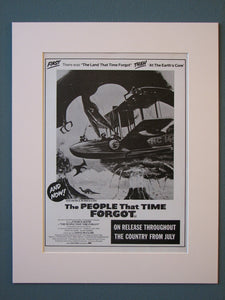 The People That Time Forgot 1977 Original advert (ref AD419)