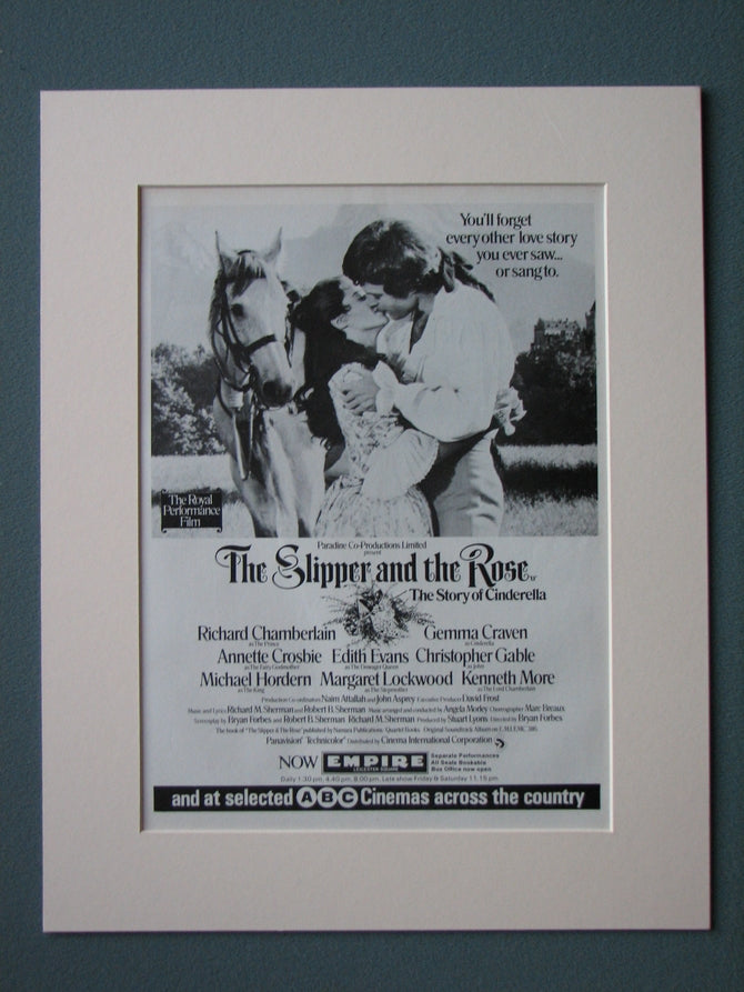 The Slipper and the Rose 1976 Original advert (ref AD499)