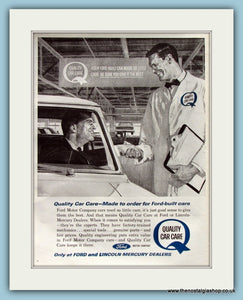 Ford Motor Company Original Advert 1963 (ref AD8274)
