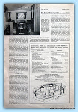 Load image into Gallery viewer, The Eccles New Imperial Caravan Original Test Report 1953 (ref AD6374)