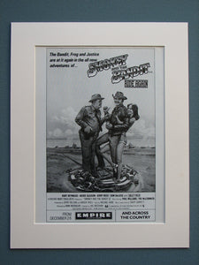 Smokey and the Bandit Ride Again 1981 Original advert (ref AD621)
