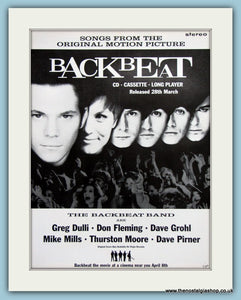 The BackBeat Band  Backbeat 1994 Original Advert (ref AD3327)