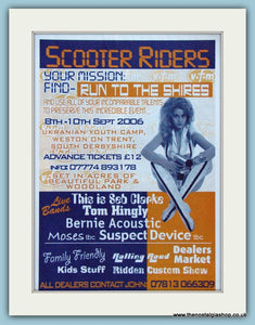 Run To The Shires, Scooter Event Advert 2006 (ref AD4100)