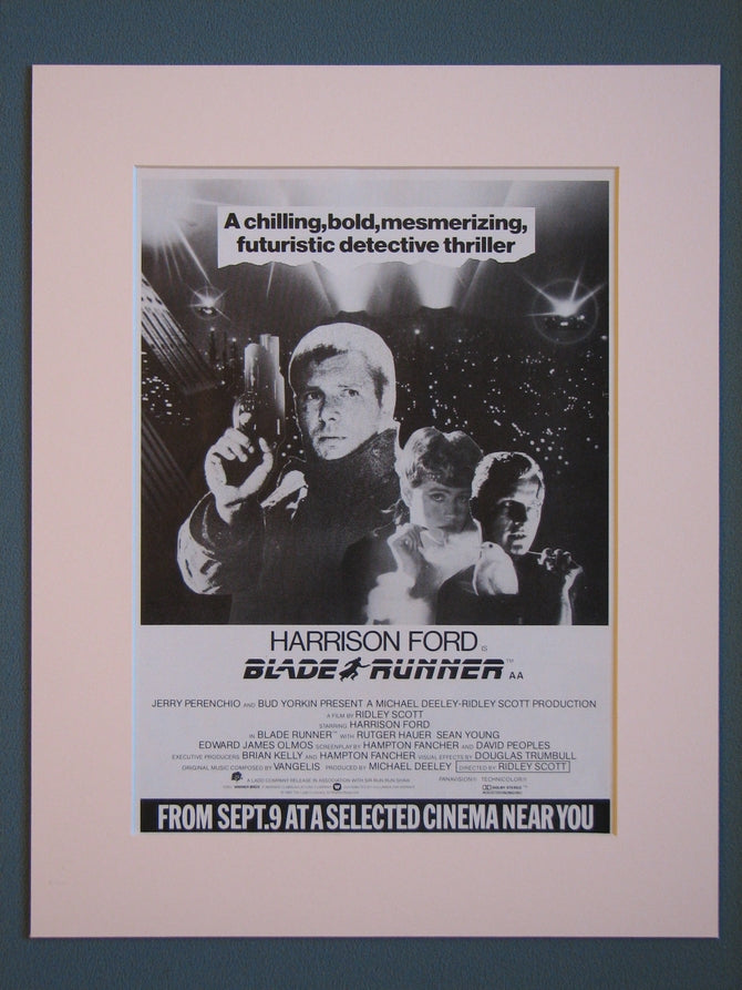 Blade Runner  Original advert 1982 (ref AD403)