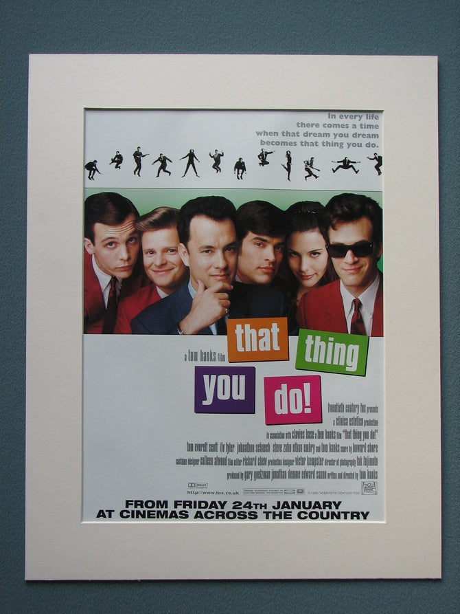 That Thing You Do 1997 Original advert (ref AD788)
