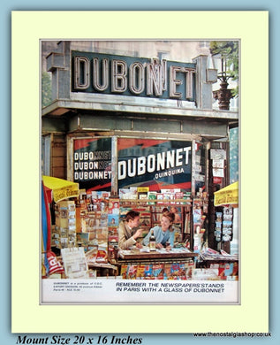 Dubonnet Drink Original Advert 1963 (ref AD9418)