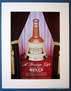 Bell's Scotch Whisky. Set of 3 Original adverts 1982 & 1986 (ref AD1190)