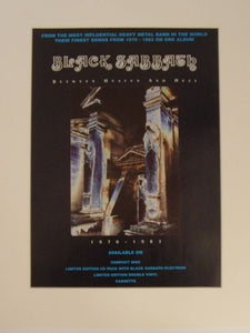 Black Sabbath - Between Heaven & Hell original 1995 advert(AD5020K)