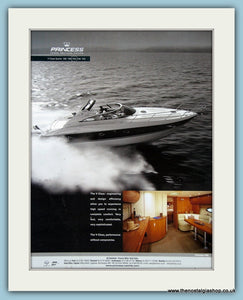 Princess Power Boat Original Advert 2001 (ref AD2327)
