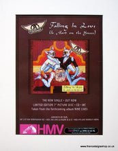 Load image into Gallery viewer, Aerosmith Set of 3 Original Adverts 1997 Nine Lives Tour (ref AD913)
