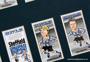Sheffield Wednesday Heroes and Legends. Football Card Set.