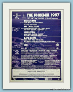 The Phoenix Festival Advert 1997 (ref AD3353)