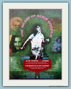 Alice Cooper The Beast Of Alice Cooper 1989 Original Advert (ref AD3135)