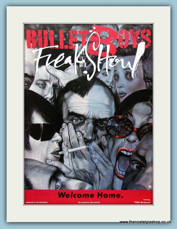 Bullet Boys Freak Show Original Music Advert 1991 (ref AD3395)