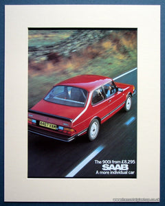 Saab 900i 1984 Original Advert (ref AD1493)