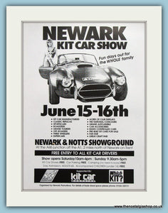 Newark Kit Car Show 1996. Original Advert (ref AD2016)