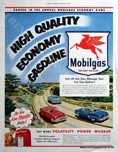 Load image into Gallery viewer, Studebaker Truck & Mobilgas Double Original advert 1953 (ref Ad4080)