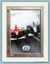 Load image into Gallery viewer, F1 Championship Playstation Double Original Adverts 2000 (ref AD4040)