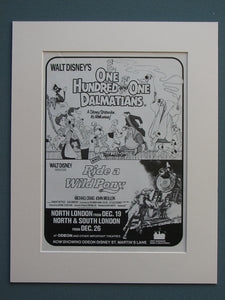 One Hundred And One Dalmatians/Ride A  Wild Pony (ref AD666)