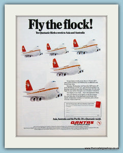 Quantas Airline Original Advert 1977 (ref AD2126)